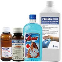Spirt si alte solutii dezinfectante