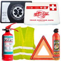 Truse sanitare prim ajutor auto si kit-uri