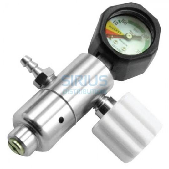 Regulator de Presiune cu manometru pentru oxigen cu 1 ceas (1 buc.)
