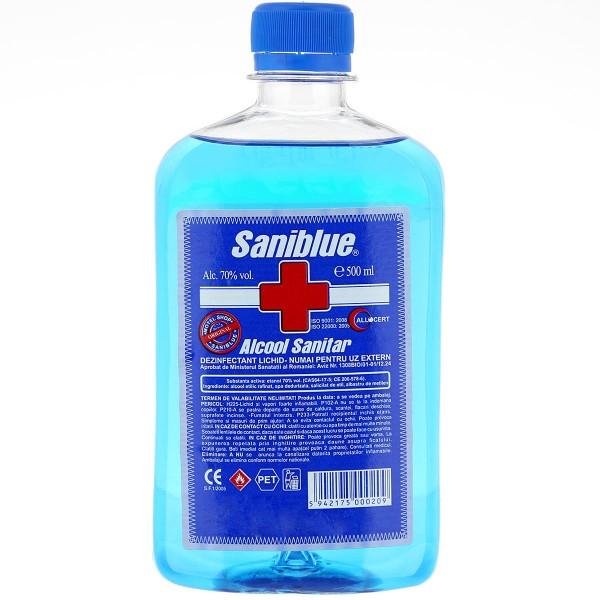 Alcool sanitar flacon 500ml