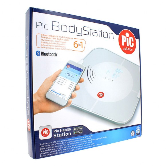 Cantar electronic multifunctional BodyStation 6 in 1 (cu conectivitate Bluetooth la smart phone)