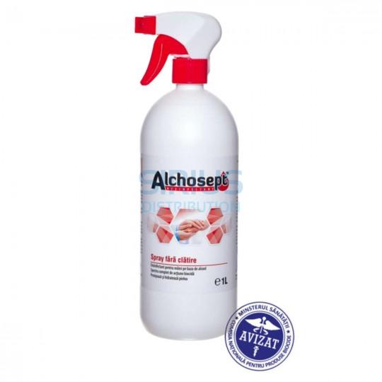 Dezinfectant spray, pentru maini si tegumente, gata de utilizare, Biocide (1 litru)