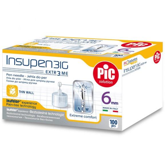 Ace pen insulina sterile INSUPEN 100 buc/cutie 31G x 6 mm