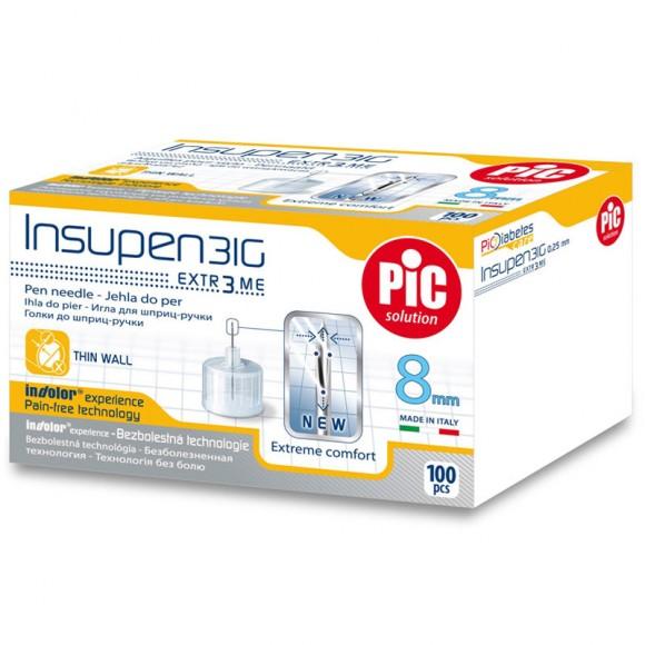 Ace pen insulina sterile INSUPEN 100 buc/cutie 31G x 8 mm