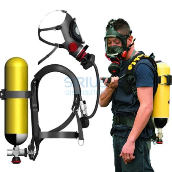 Aparat de respirat izolant, autonom, pentru pompieri, tip ARIAC 2000 + butelie 6 litri