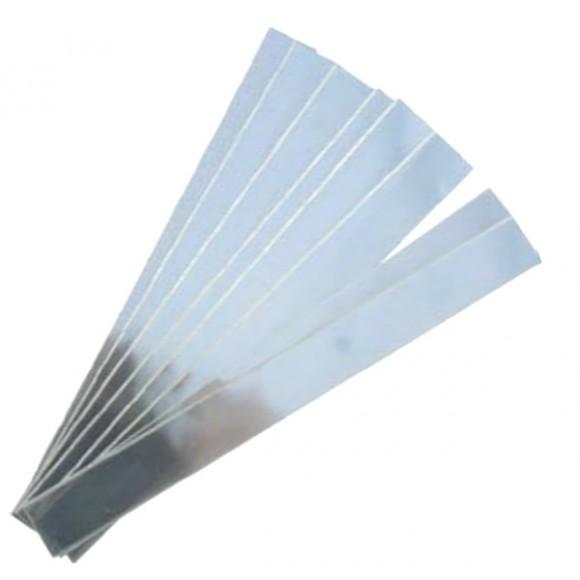 Benzi plastic mylar pentru realizare matricilor, transparent, 1x10mm (10 buc)