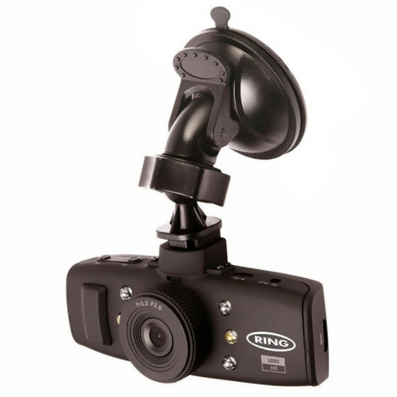 "Camera auto DVR 1.5"" HD, Ring"
