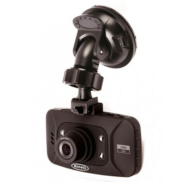 "Camera auto DVR 2.7"" HD, Ring"