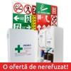 Trusa Sanitara Prim Ajutor Fixa + 26 Autocolante obligatorii + Tipizat A3 PSI - la alegere