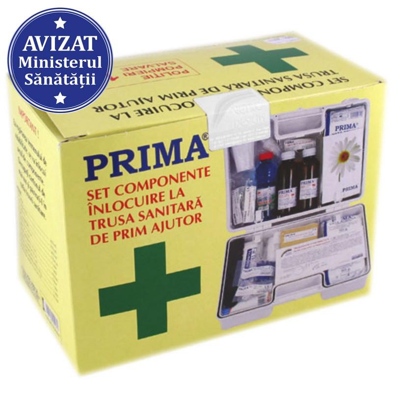Kit (set) inlocuire componente trusa sanitara Prim Ajutor fixa